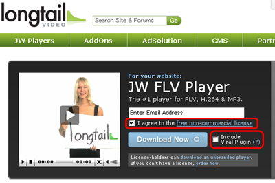 Longtail JW FLV Player